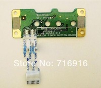 Free shipping For HP G60 Compaq CQ50 CQ60 Power Button Board & ribbon Cable 48.4H503.011