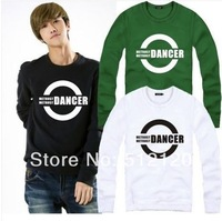 Free shipping 2014 hot sale hip hop clothing brand sweater DANCER bboy waackin housejazz sweatshirt Jumbo pullover 8 colors