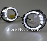 LED Daytime running lights front Fog lamp Fog Lights 2010-2013 Toyota Land Cruiser Prado FJ150 bj