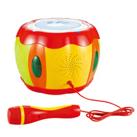 Burped music drum hand drum mobile phone mp3 belt microphone
