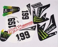 2014 Motocross whole car decals car stickers waterproof sunscreen(freeshipping)