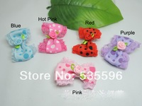 Free Shipping New Kids/Girls/Princess/Cute Dot Ribbon Bowknot hairpins/Lovely Lace Hairgrips/children hair accessories