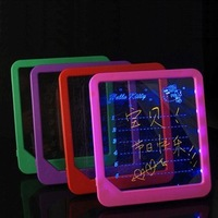 Free shipping Home Use Bulletin Board message Luminous boards Handwriting fluorescence board led writing board