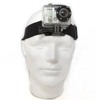 New Antiskid Adjustable Elastic Headband Head Strap Mount Belt For GoPro HD Hero 1/2/3 Camera Outdoor Diving Wholesale