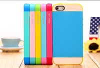 Free shipping !! New arrival Ultra Sleek  fashion 3 colors in 1  case TPU case for apple iphone 4 4S