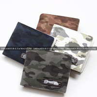 Mastermind wallet Camouflage card short design wallet lovers wallet