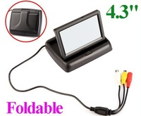 "4.3""TFT LCD Car Rearview Mirror Monitor 4.3"" color TFT LCD monitor"