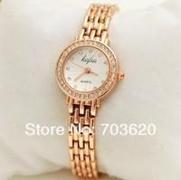 2014 Luxury Design Elegant Women's Watch Bracelet Wristwatch Fashion Lady Dress Watches New Brand With Crystal Diamond Hours