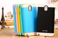 Free shipping !! New arrival Ultra Sleek fashion 3 colors in 1 case TPU case for Samsung mobile phone Noto3 N9000