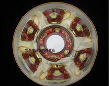 european style classic medusa coffee set porcelain tea set drinkware coffee cup and saucer
