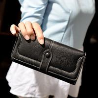 Wallet female long design 2014 vintage women's fashion multi card holder wallet card holder wallet