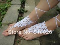 Beach Wedding Barefoot Sandals, Crochet Sandals, Foot Jewelry, Yoga, Sexy Summer Beachwear