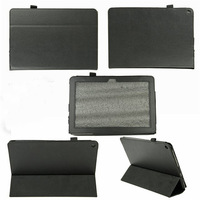 free shipping 100pcs/lot Litchi grain stand PU Leather Case Cover for Acer Iconia A3