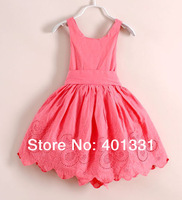 2014 new baby sleeveless dress girls dresses childen's clothing  children wear