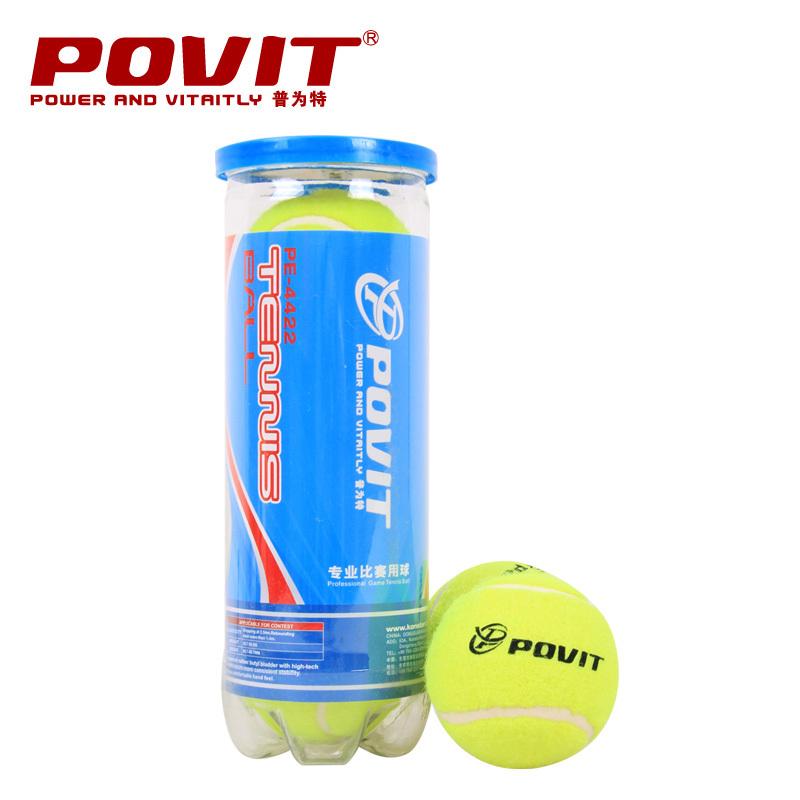 Povit pe-4422 tennis ball on the match tennis ball 3 woolen tennis ball(China (Mainland))