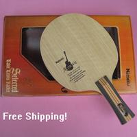 Nittaku Table Tennis Blades Acoustic Guitar / Table Tennis / Bats / RACKET / Ping Pong / FL LONG HANDLE