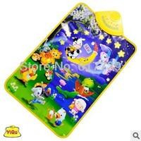 2014 hot Kids Baby  Animal Musical Music Touch Play Singing Gym Carpet Mat Toy