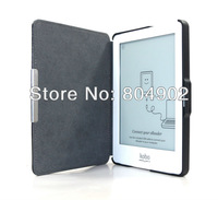 Ultra-slim PU Leather Kobo Glo Case pouch cover jacket for Kobo Glo 6 inch Smart cover free shipping
