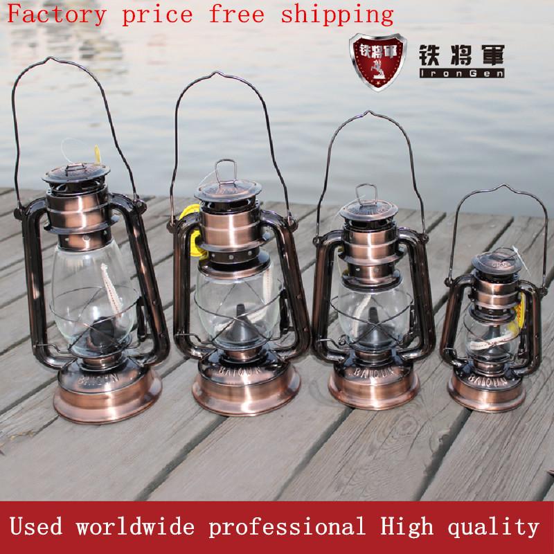 Classic vintage old fashioned kerosene lamp camping light outdoor lighting tent lights portable lantern,Ethanol Kerosene fuel(China (Mainland))