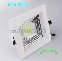 Hot new cob 30w AC90-260V downlight fixtures highlight PF90 3500lm / w  DHL free shipping