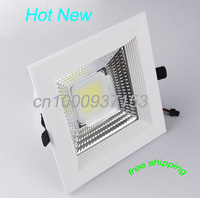 Hot new cob 30wcelling lights  AC90-260V downlight fixtures highlight  3500lm / w  DHL free shipping