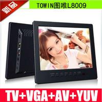 L8009 small lcd display 8 mini tv small tv monitor