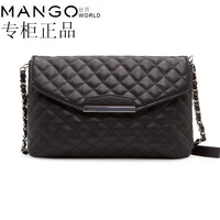Mango 2014 female bags mng bag messenger bag chain day clutch