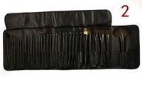 Free shipping !! 32pcs Brand Logo Professional Soft Hair make up tools kit Cosmetic Beauty Makeup Brushes Sets