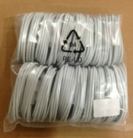 for ios 7.0.6 500pcs/Lot 2M white 8pin USB Cable Data Line USB 2.0 for Apple iPhone 5 iPhone5 Nano 7 + free shipping by DHL
