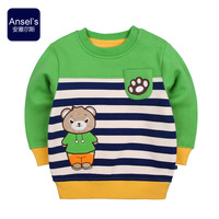 2014 spring child baby sweatshirt children's clothing male female child sweatshirt outerwear fleece thermal