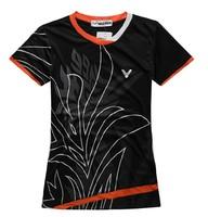 Wholesale!Free shipping 2014 NEW Victory womenshirt table tennis clothing / Badminton shirt T-shirt