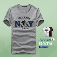 2014 New 100% cotton sports t shirt Men cartoon t shirt loose short sleeves Free shipping D463