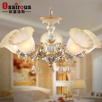 Pendant Light The Living Room Ceiling Lamp Bedroom Cozy European-style Restaurant Lighting Fixtures 508/5f Art Suction Dingding