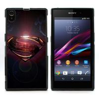 For Xperia Z1 Case, Superman Hard Skin Cover Case For Sony Xperia Z1 L39H (L39H-506)