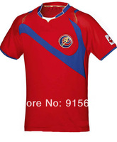 New! 2014 World Cup Costa Rica home soccer jersey, Thailand quality soccer uniforms Free Shipping soccer jerseys