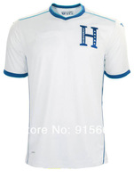 Top A+++ 2014 World Cup Honduras home Soccer Jersey,2014 Honduras jerseyS,Free shipping