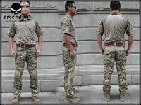 EMES Devgru Custom Combat Shirt & Pants Set Multicam (Size optional) tactical uniform M,L,XL free shipping
