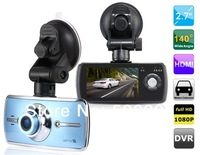 "Free shipping + Car dvr 2014 A900 2.7"" TFT Screen Novatek 140-degree Wide-angle Lens Vehicle Black Box DVR Camera Video Recorder"