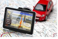 free shipping  5 inch GPS Navigator Windows CE 6.0 128M RAM 4GB MTK CPU dhl free