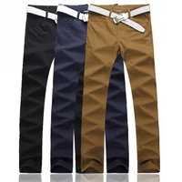 Men's Plus Size Casual Trousers,Males 2014 Fashion Extra Large Size Trousers Size 36-46 Hot Sale