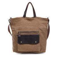 Original ancient brand retro thick canvas bags man pocket shoulder bag
