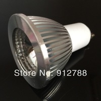 2014 Factory outlet  7W COB GU10 Led Downlight Bulb  AC85-265V Warm/Cool White CE/RoHS Led Spotlight