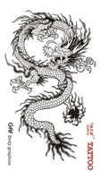 "Waterproof High Quality Temporary Tattoo Sticker ""Dragon"" -6.5*11.5 cm"