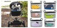 Free shipping 2014 NEW  baby stroller  bag cart hanging bag cart accessories baby Stroller Organizer storage bag retail 1pcs