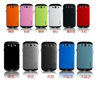 100pcs/1lot SPIGEN SGP Slim Armor Silicon case for Samsung Galaxy S4 I9500 Galaxy S3 i9300 , Mix
