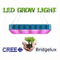 Super Light Efficiency 3w Cree Greenhouse Grow Panel Led Light 420 watt Growing Lamp Garden Plant Grow Box System