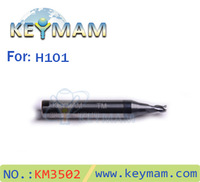 2.5mm end mill  Keymam H101 Milling cutter,cutting tools,key cutting machine cutter.key cutter