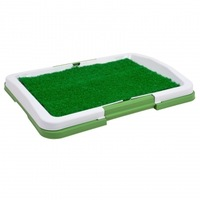 New Dog Puppy Potty Trainer Indoor Grass Patch Toilet Training Tray Pet Toilets Layers