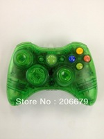 Free/Drop Shipping For 2.4G Wireless Transparent Controller For XBOX 360 Joystick For X BOX Game Accessory Remote Control