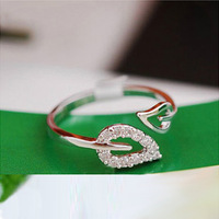 0678 personalized accessories diamond ring hot-selling opening finger ring